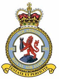 102e Squadron RAF