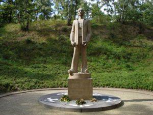 Joosten +1942 monument kamp Amersfoort te Leusden