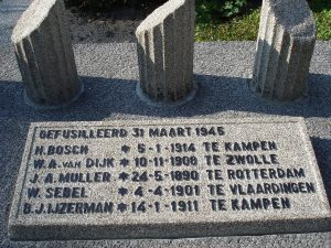 Sebel +1945 monument Zwolle 1