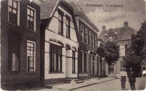 Woning van Alfred aan de Grotestraat - witte huis