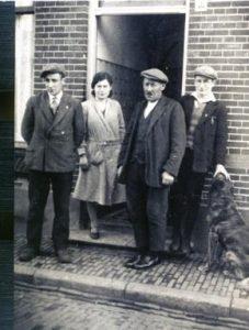 Lutze, Leni, vader en Benno