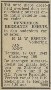eshuis-advertentie