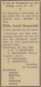 Sneujink Willem