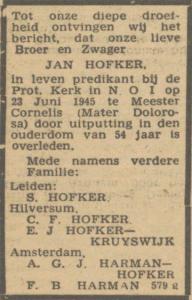 Hofker Jean