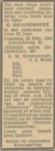 Groenewoudt Gerhard