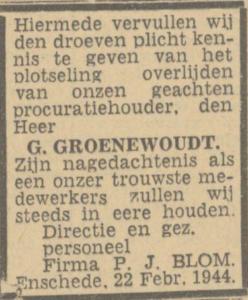 Goenewoudt Gerhard