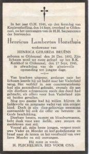 Horsthuis Henricus