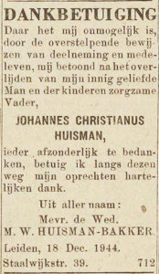 Huisman Johannes