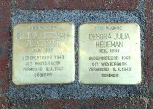 Hedeman-Zilversmit Bertha en Debora