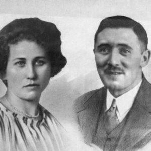 Menco Maurits met vrouw
