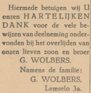 Wolbers Gerard