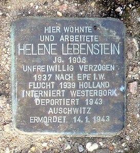 Lebenstein Helene