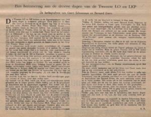 Evers en Schoonman - Zwerver 1947