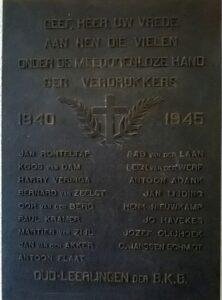 Havekes plaquette Beverwijk